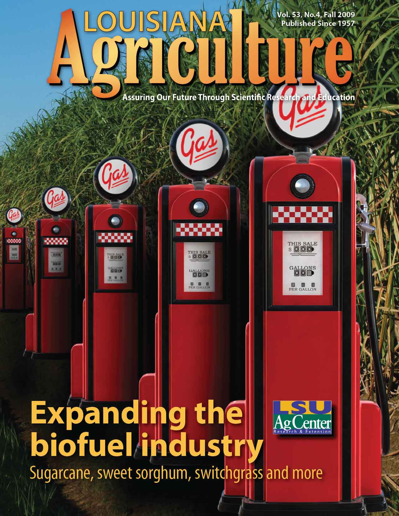 Louisiana Agriculture Magazine Fall 2009
