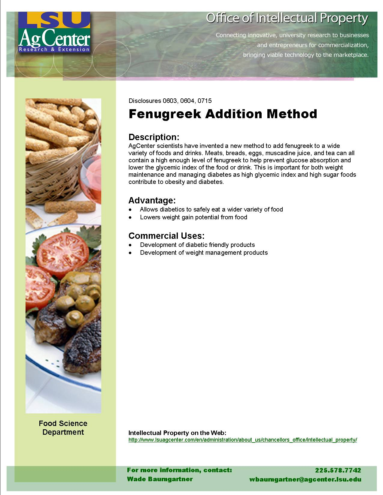 Improved Fenugreek Addition Method