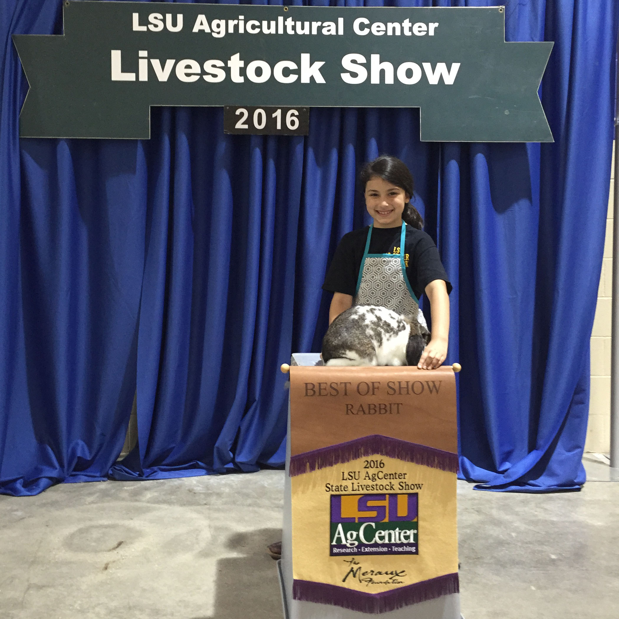 LSU AgCenter announces winners in first-ever state rabbit show
