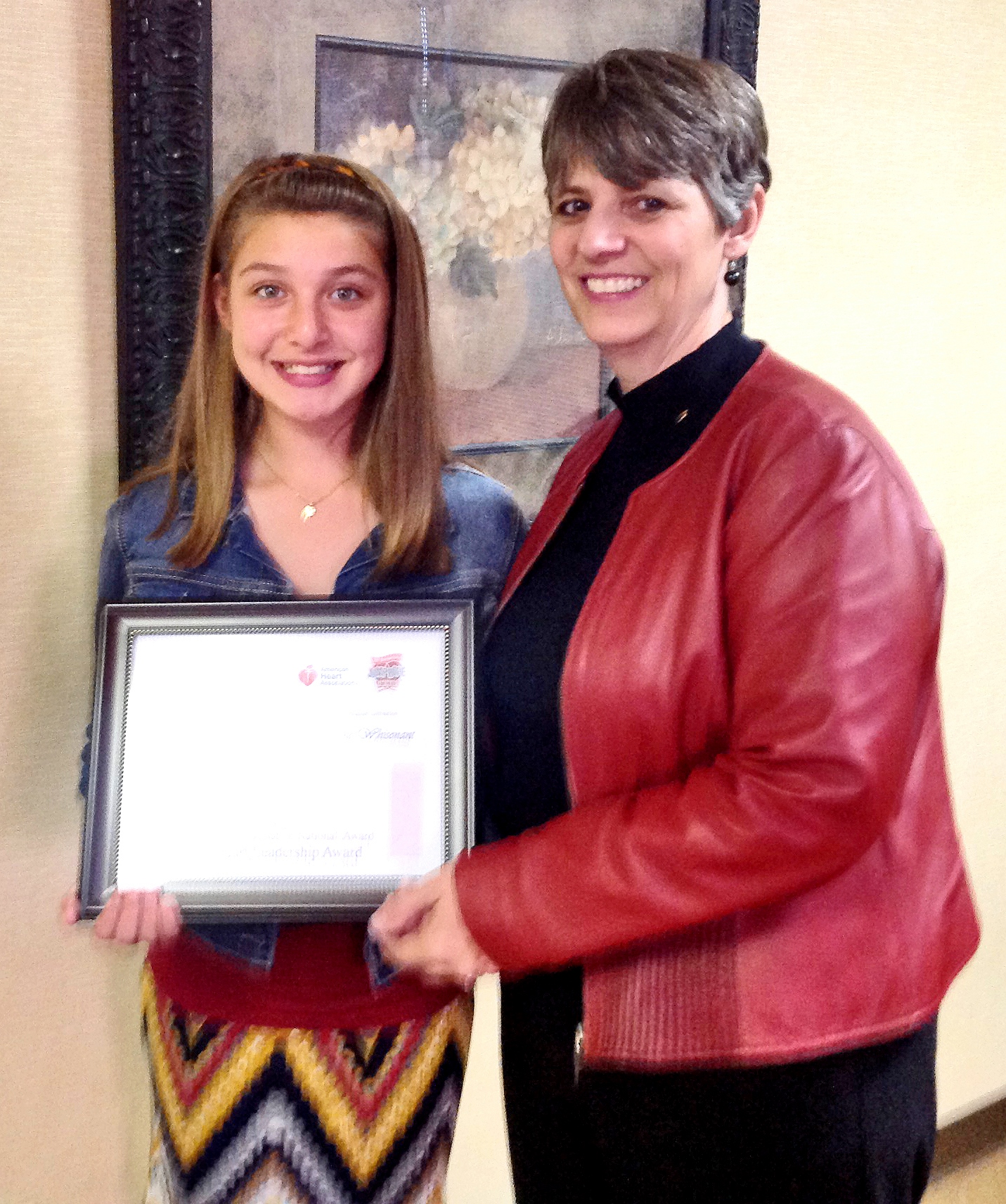 Louisiana 4-H'er wins national Heart Association award