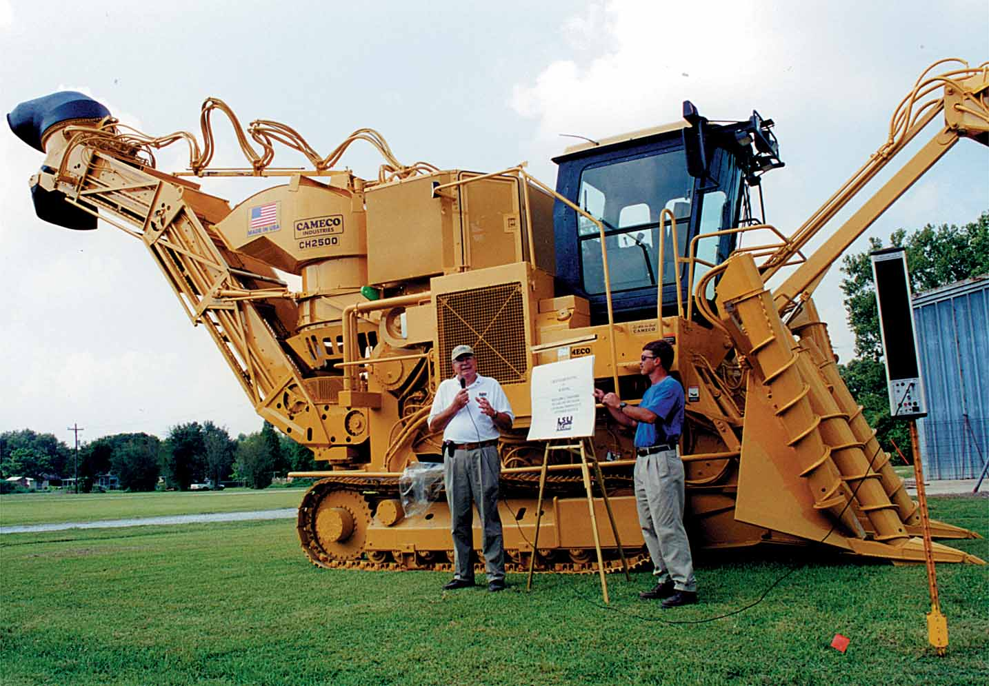 Cameco Sugar Cane Harvester : Partners in research