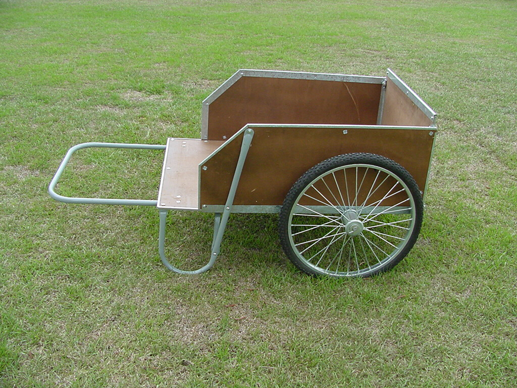 high-wheel garden cart