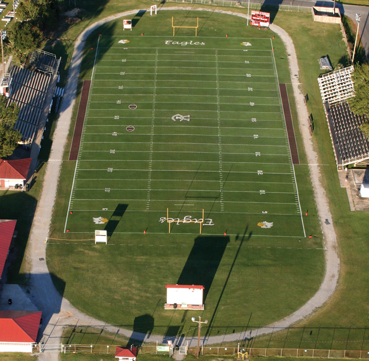Vermilion Catholic high football field