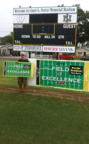 New Iberia field of excellence