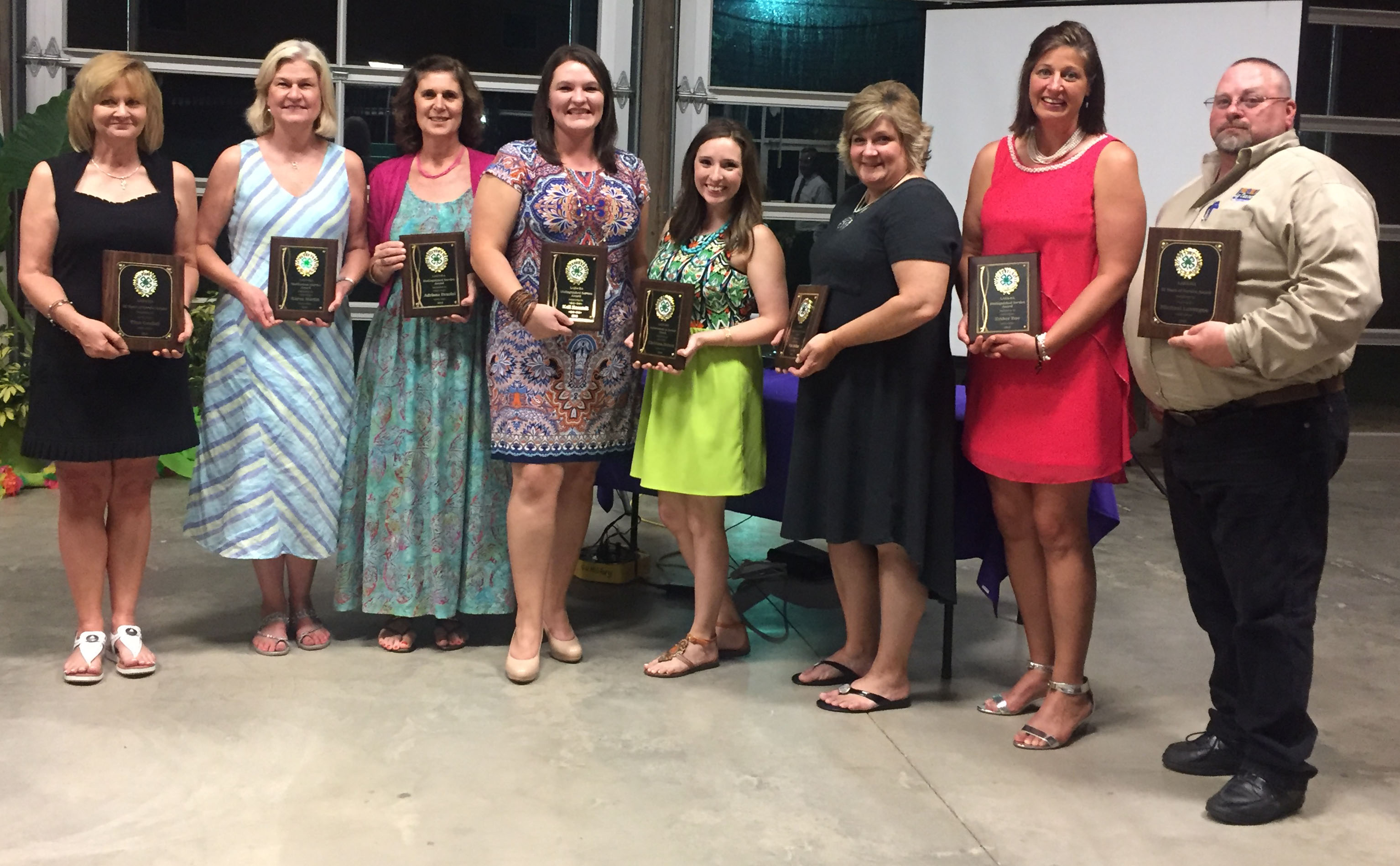 Agents receive awards for service, projects at 4-H convention