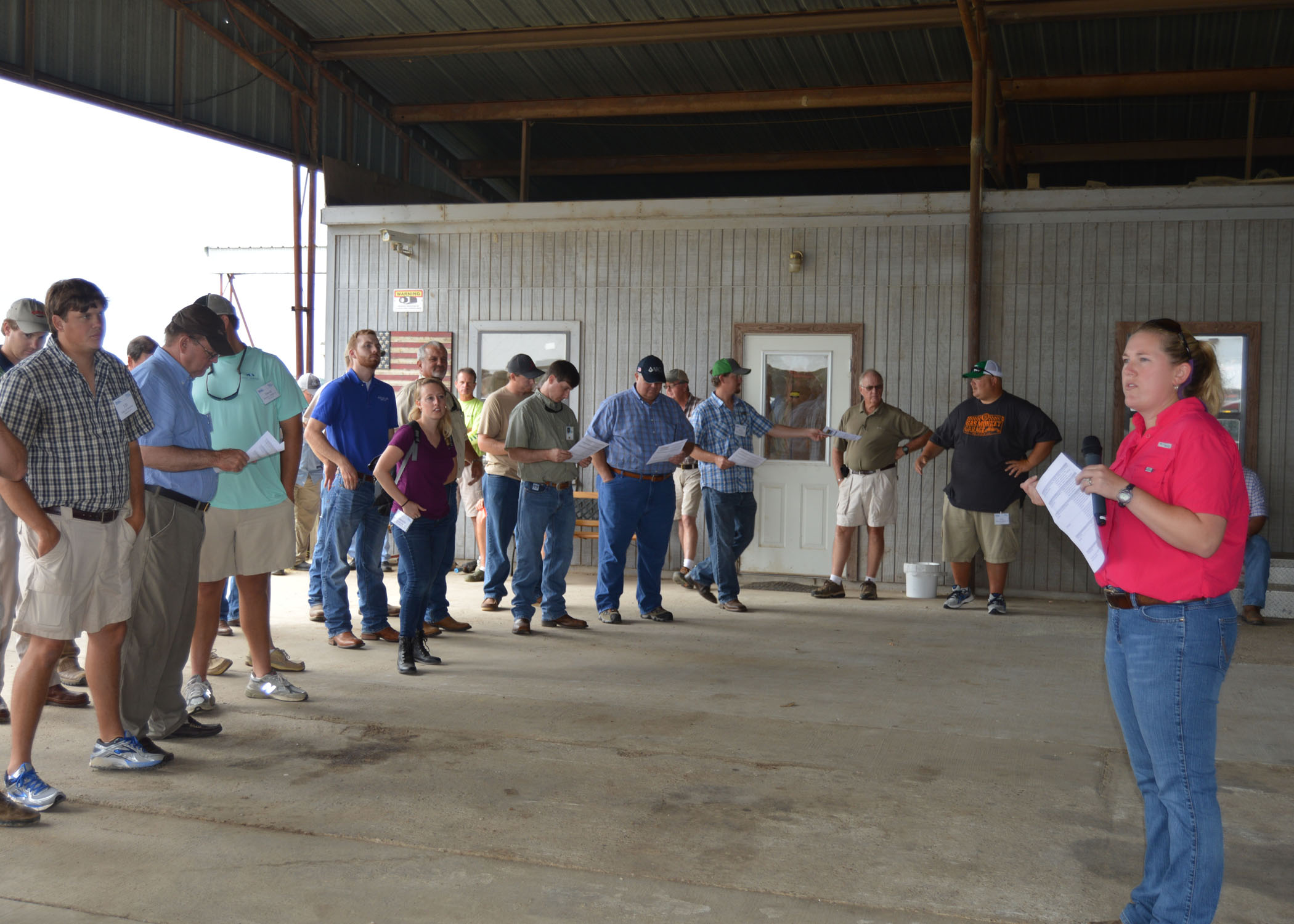 Cover crops, weed control featured at field day