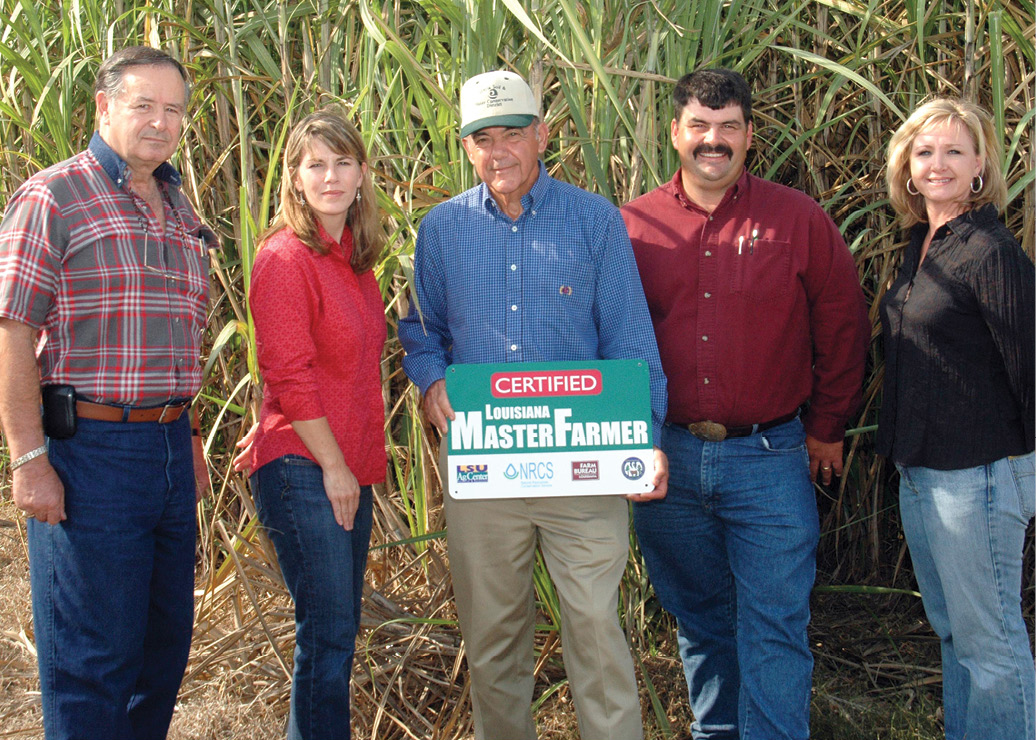 Louisiana Leads the Nation with the Master Farmer Program