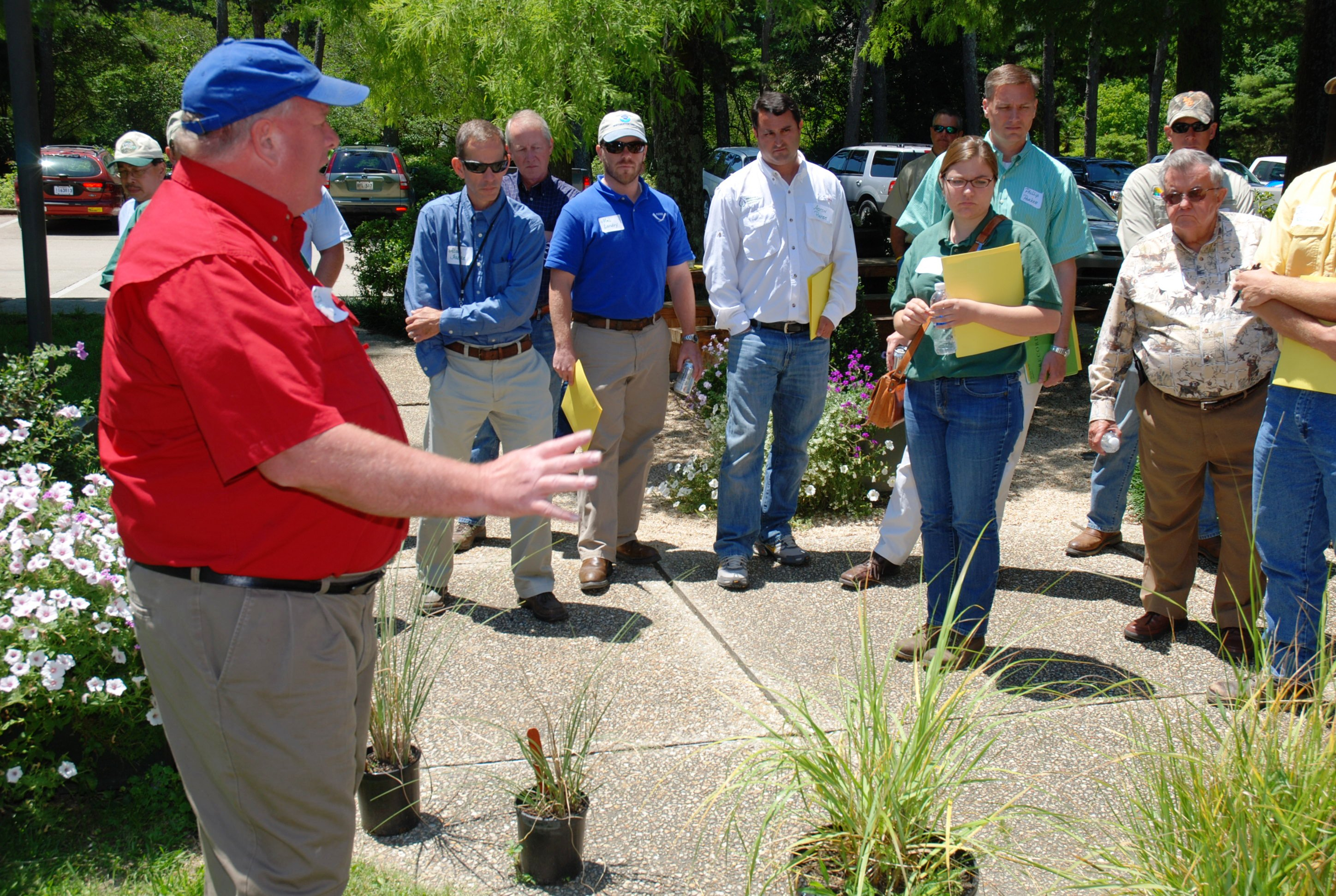 Smooth cordgrass featured at coastal plants field day