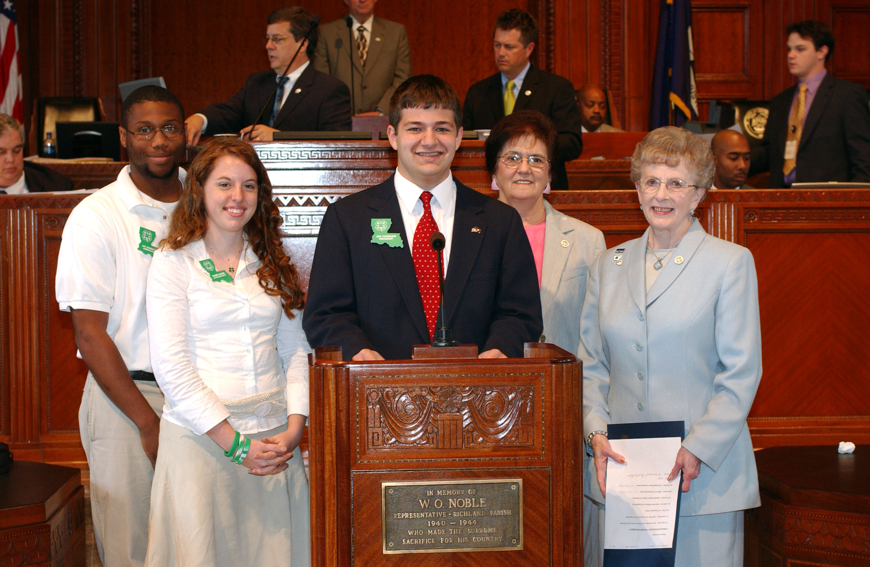 Youth From Across Louisiana Gather For 4-H Day At Capitol