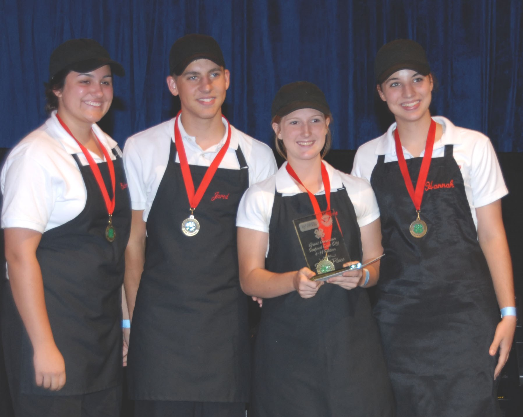 Louisiana team places second in national 4-H seafood cook-off