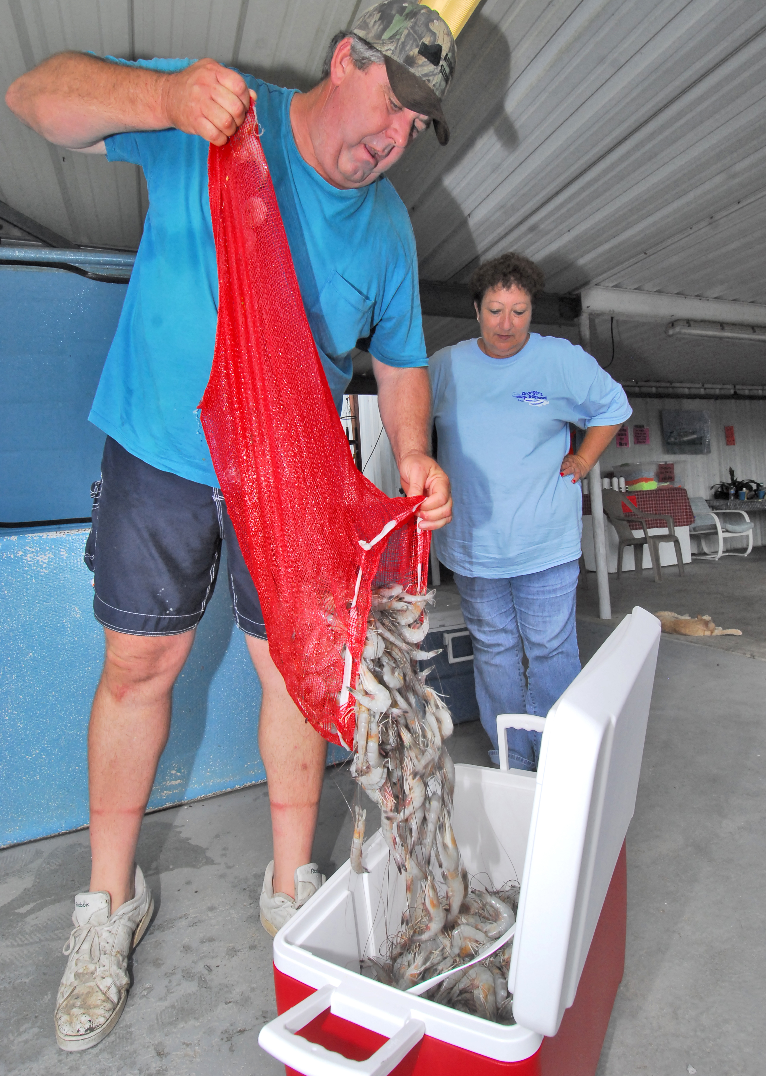 Online program helps shrimpers reach customers