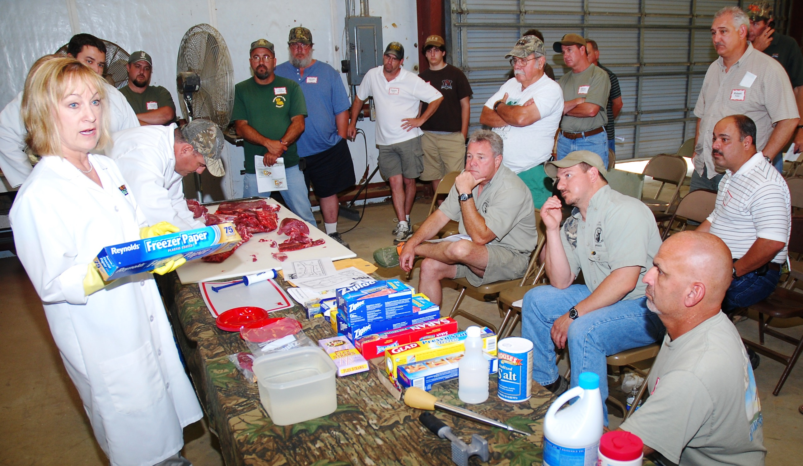 Hunting white-tailed deer focus of field day