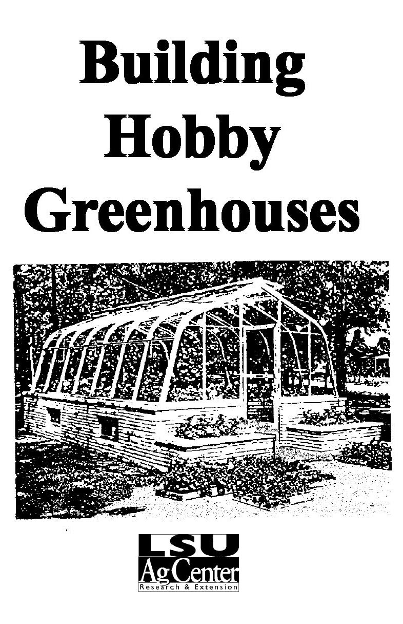 Building Hobby Greenhouses