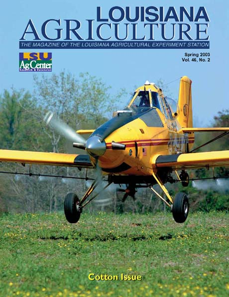 Louisiana Agriculture Magazine Spring 2003