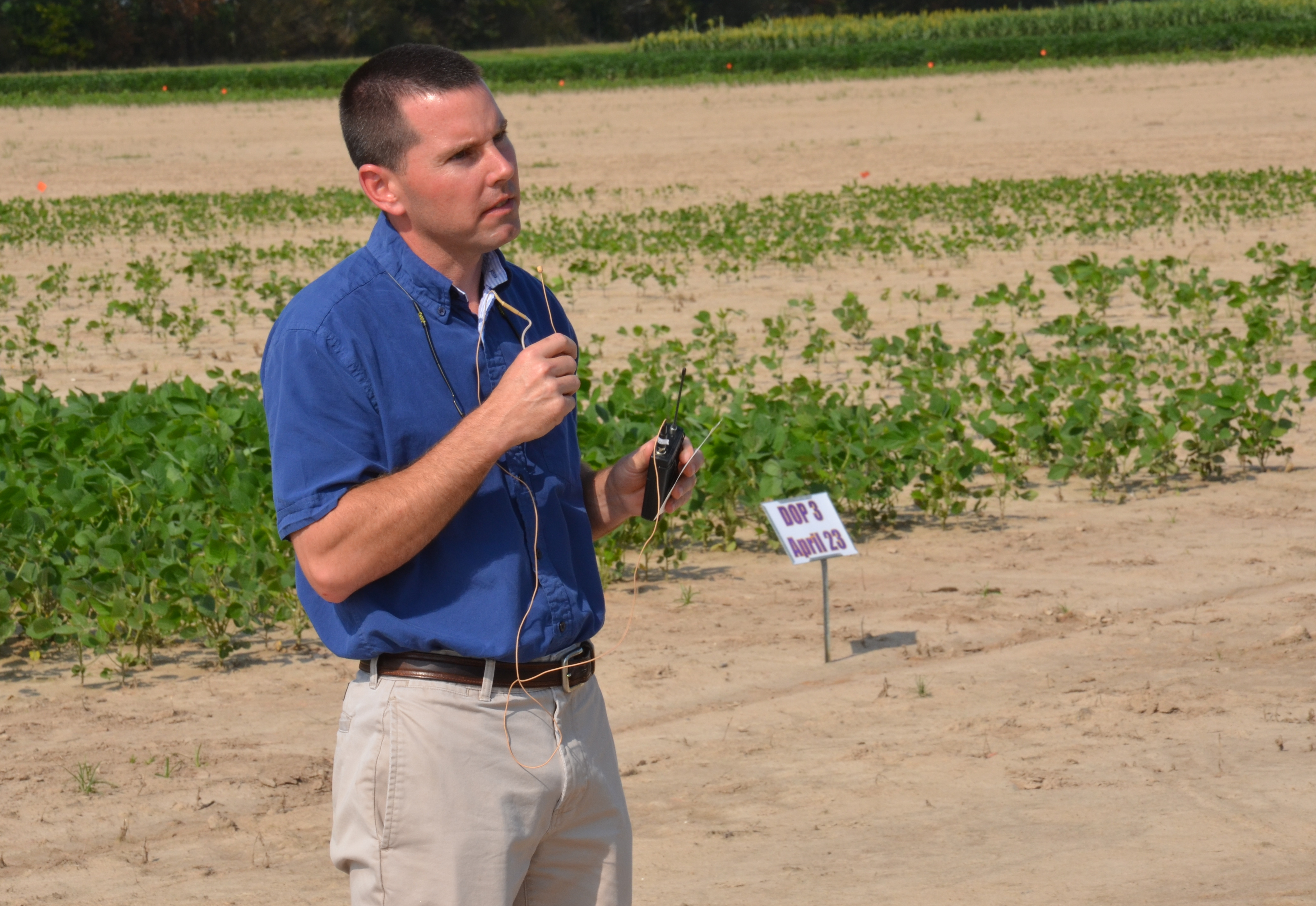 Research focuses on soybean planting date in southwest La.