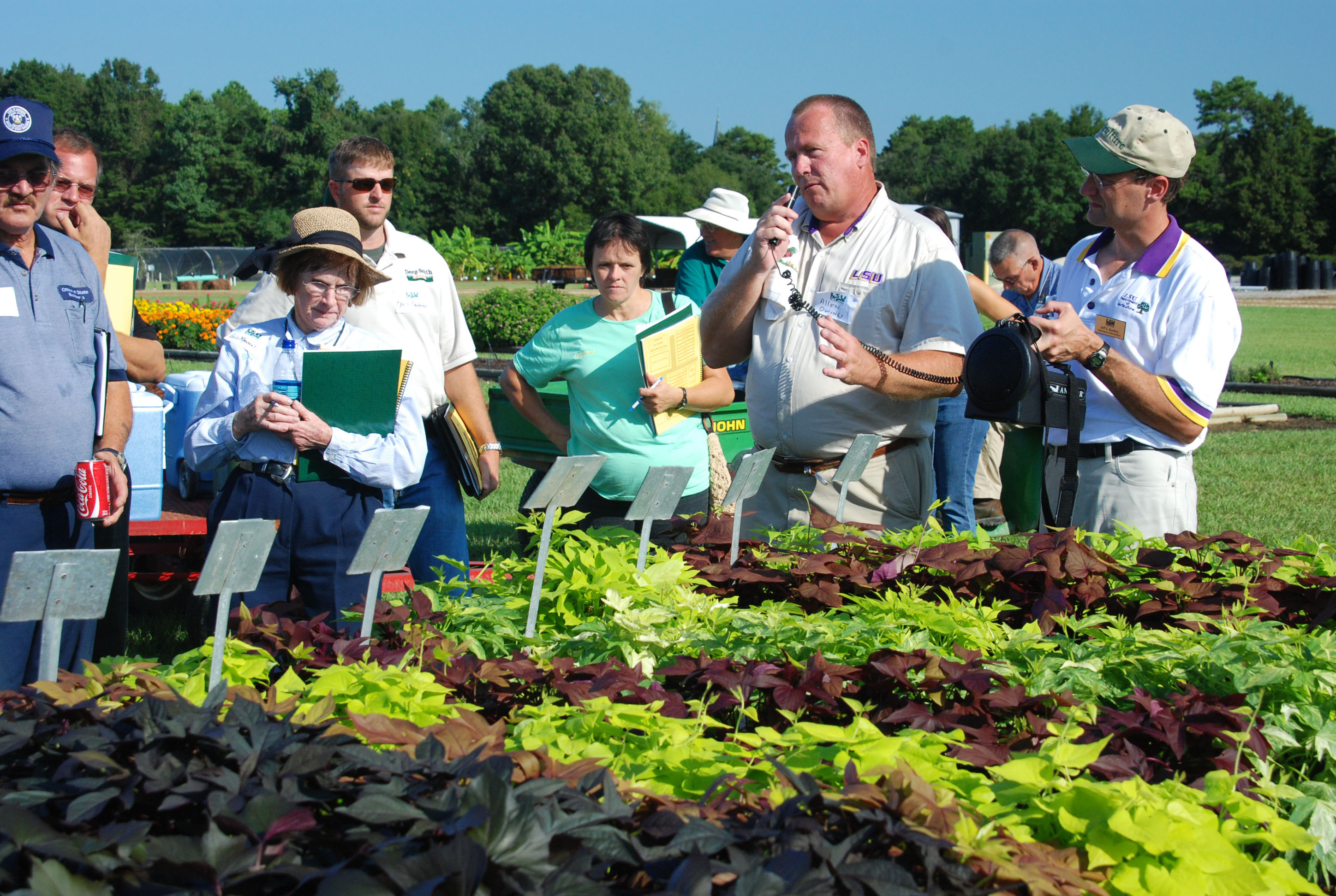 Turf, Ornamental Plants Featured At Burden Field Day