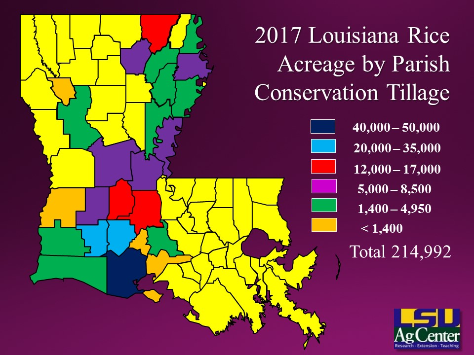 Rice Acreage Maps