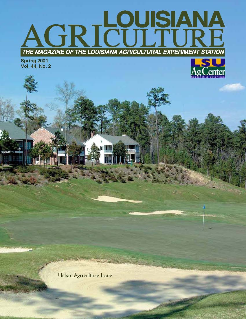 Louisiana Agriculture Magazine Spring 2001