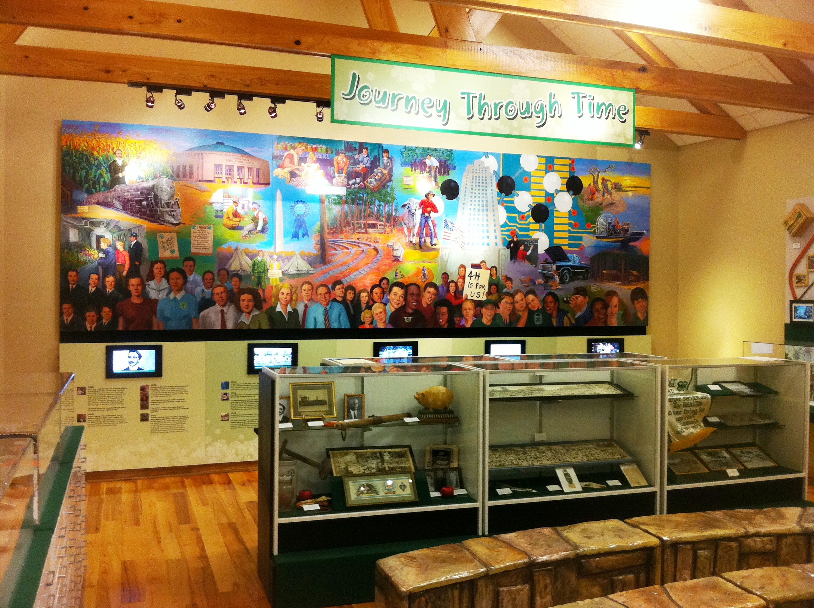 New Exhibit Enhancements Completed