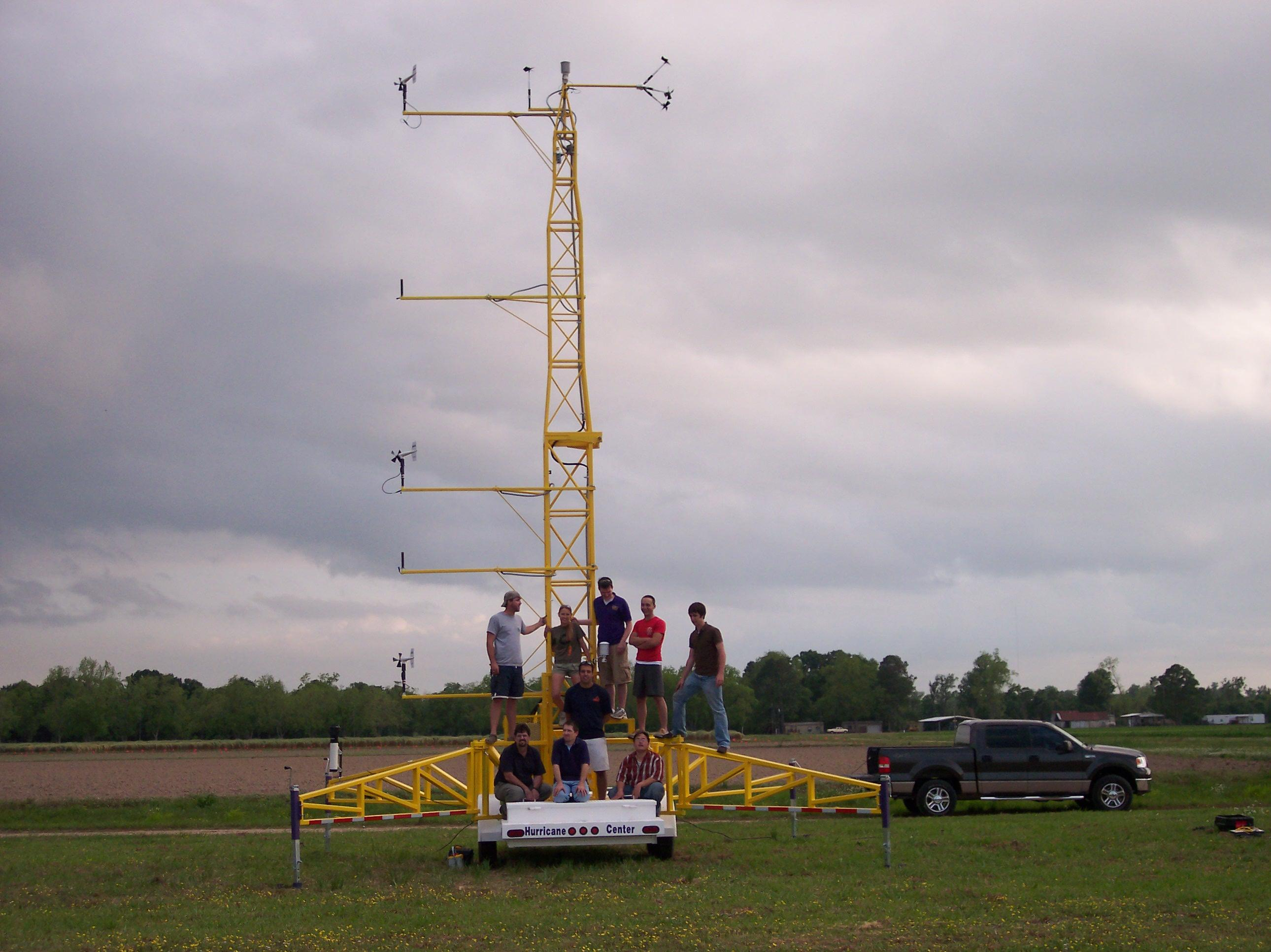 LSU faculty students build ultimate portable weather system to monitor hurricanes
