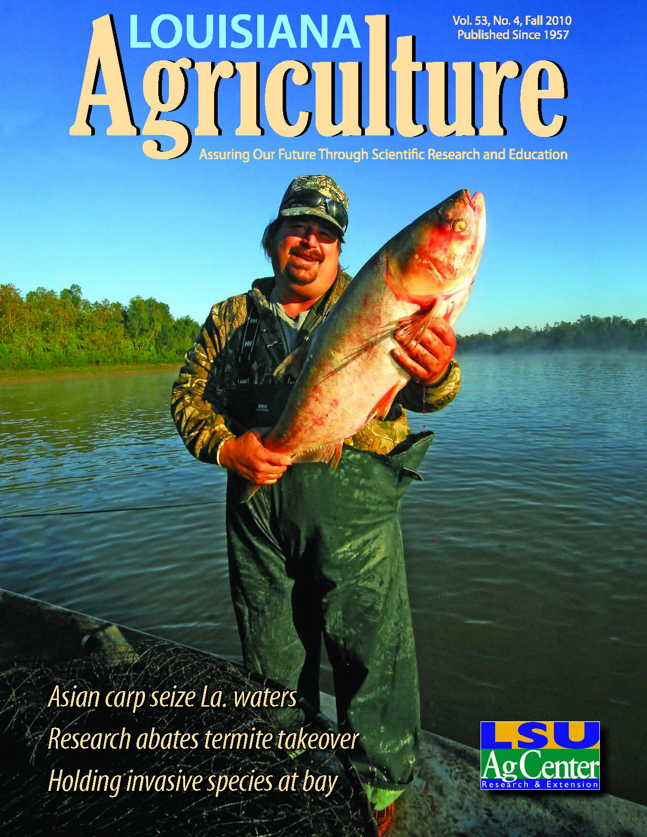 Louisiana Agriculture Magazine Fall 2010