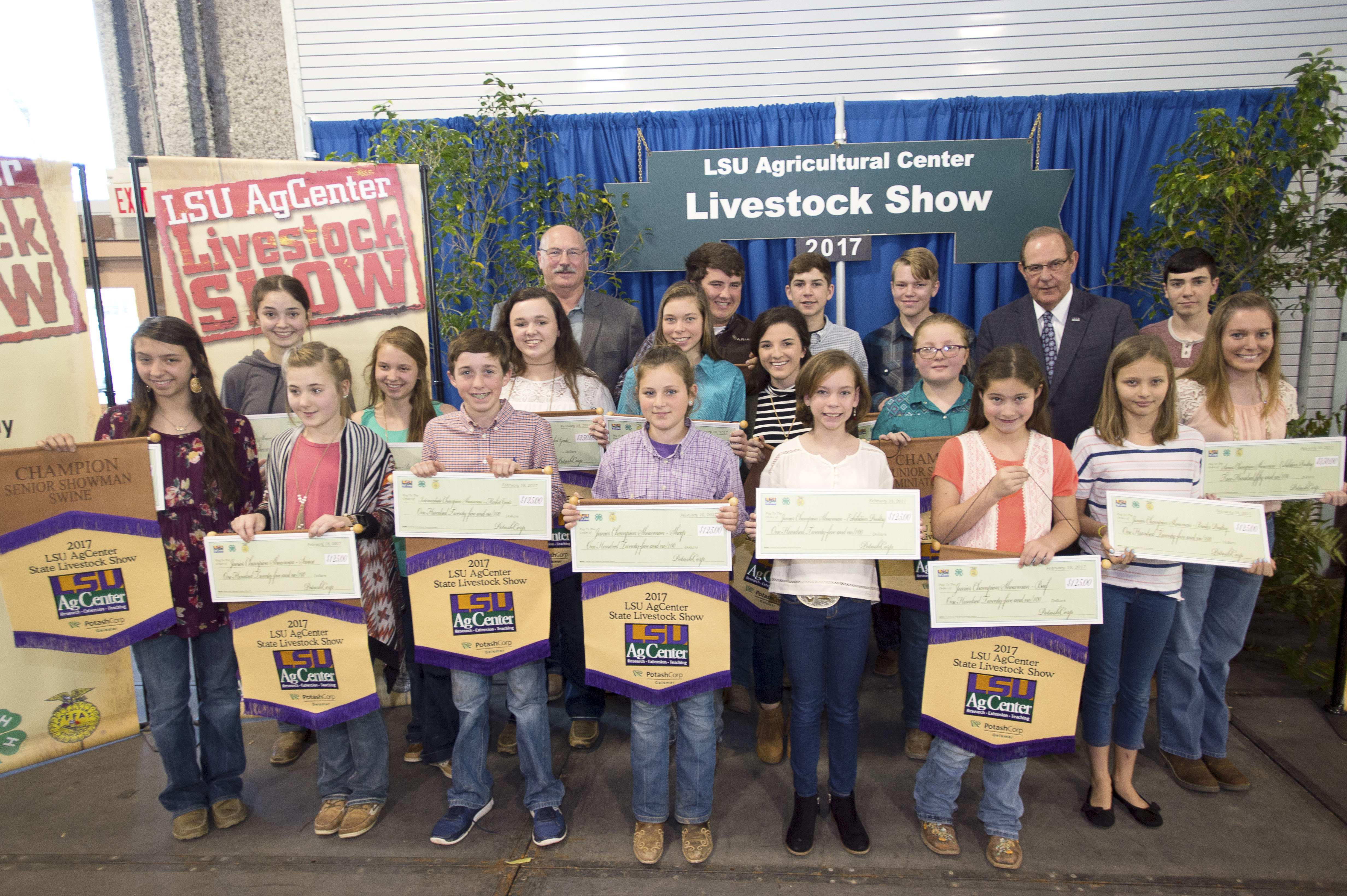 Showmanship winners named at LSU AgCenter Livestock Show