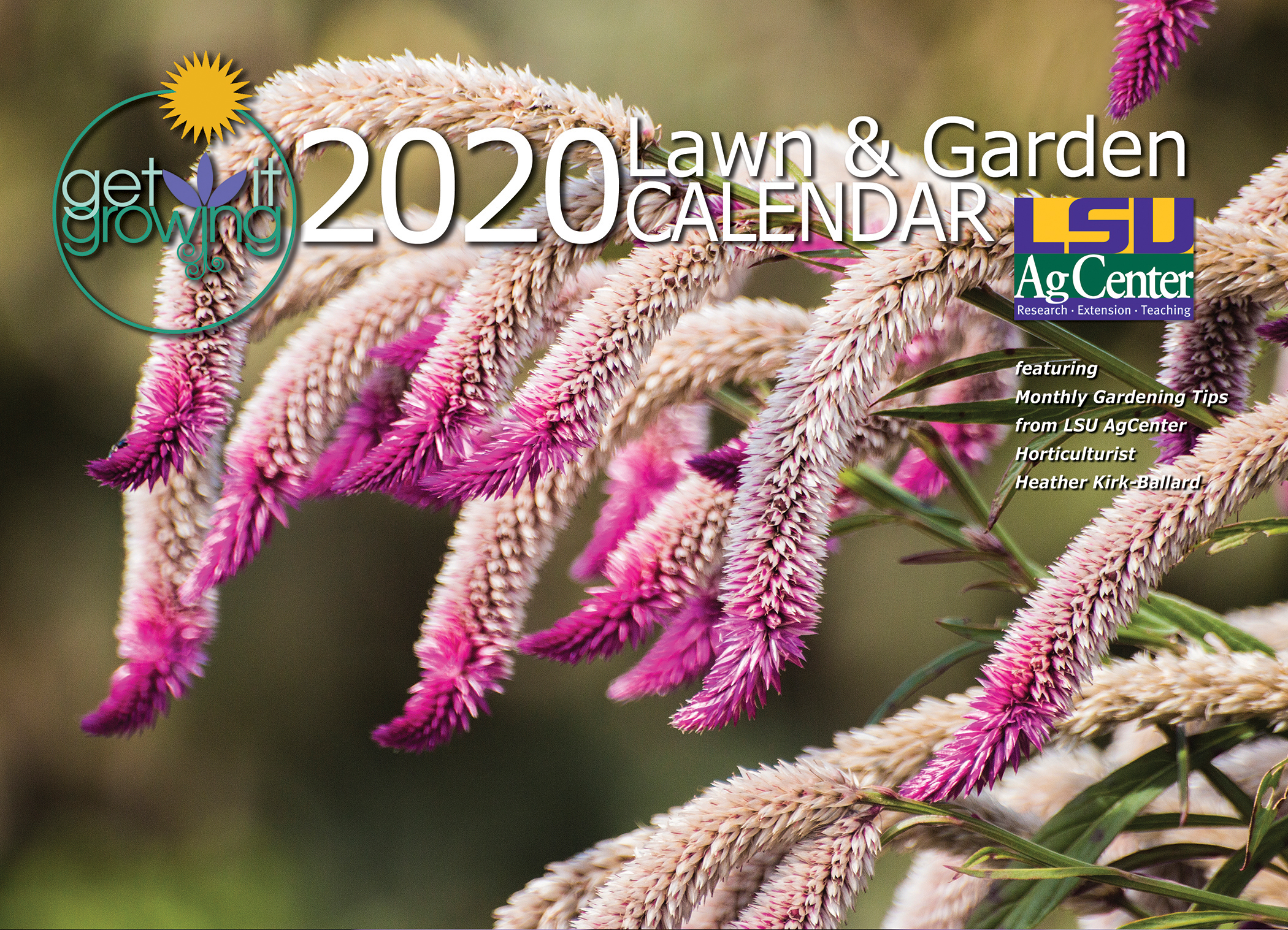 Lsu Calendar 2021 LSU AgCenter issues call for entries for 2021 Get it Growing calendar
