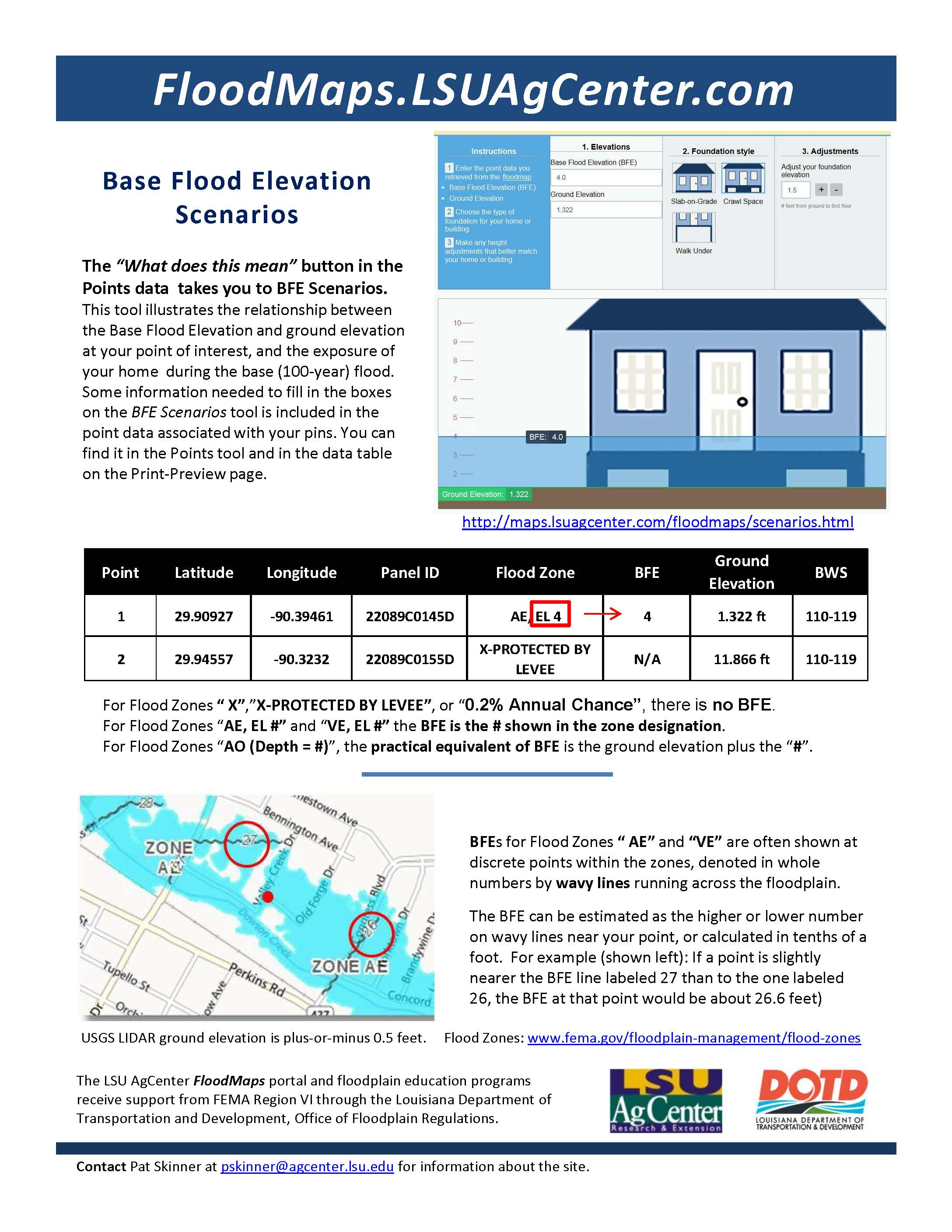 Tips for Using the FloodMaps Portal