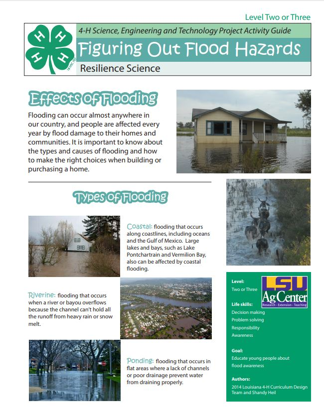 Flood Activity Guide for Youth