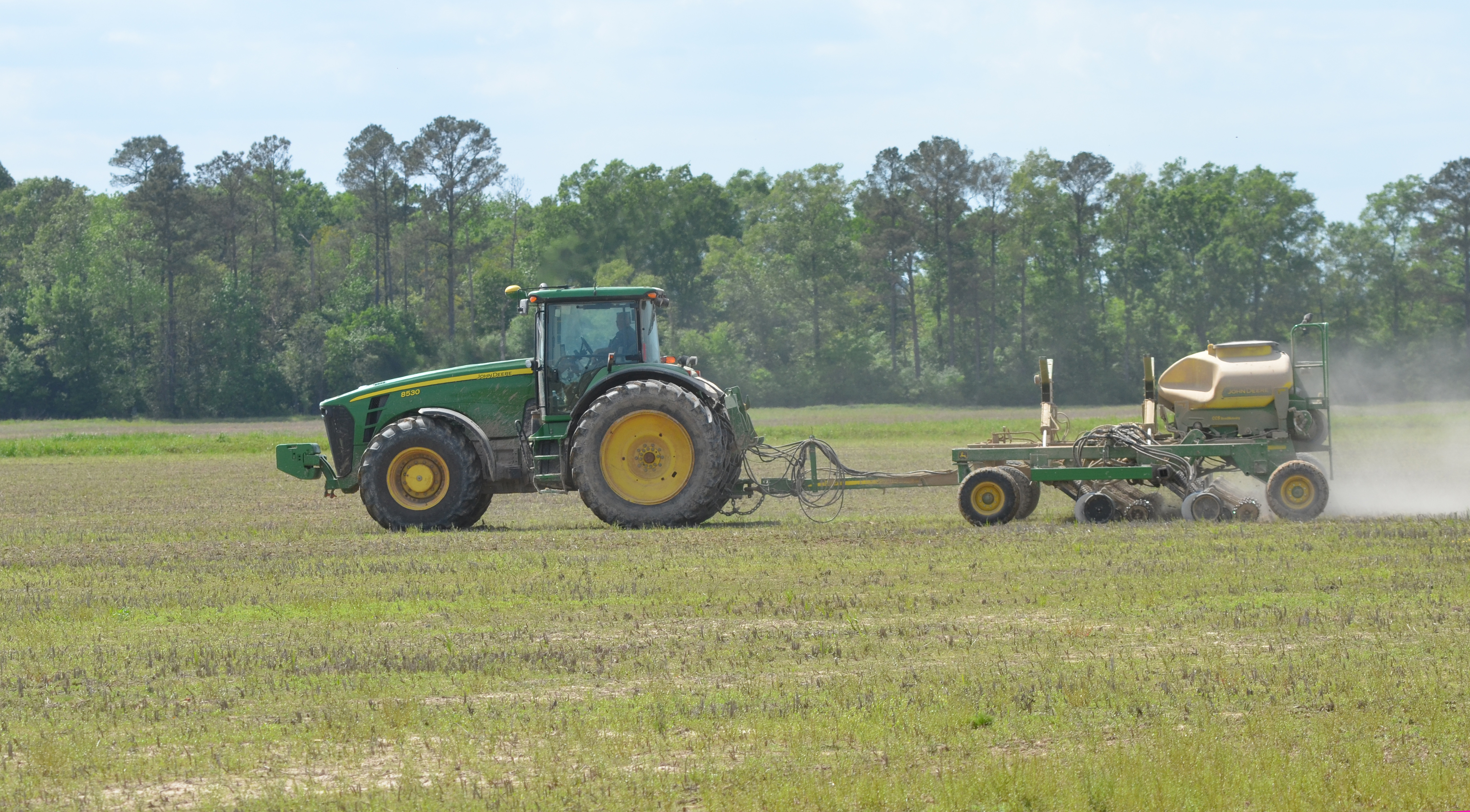 South Louisiana rice planting off to good start
