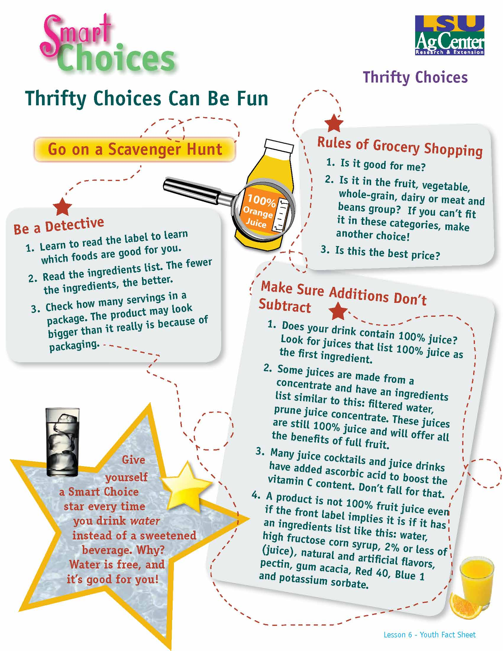 Smart Choices:  Thrifty Choices Can Be Fun