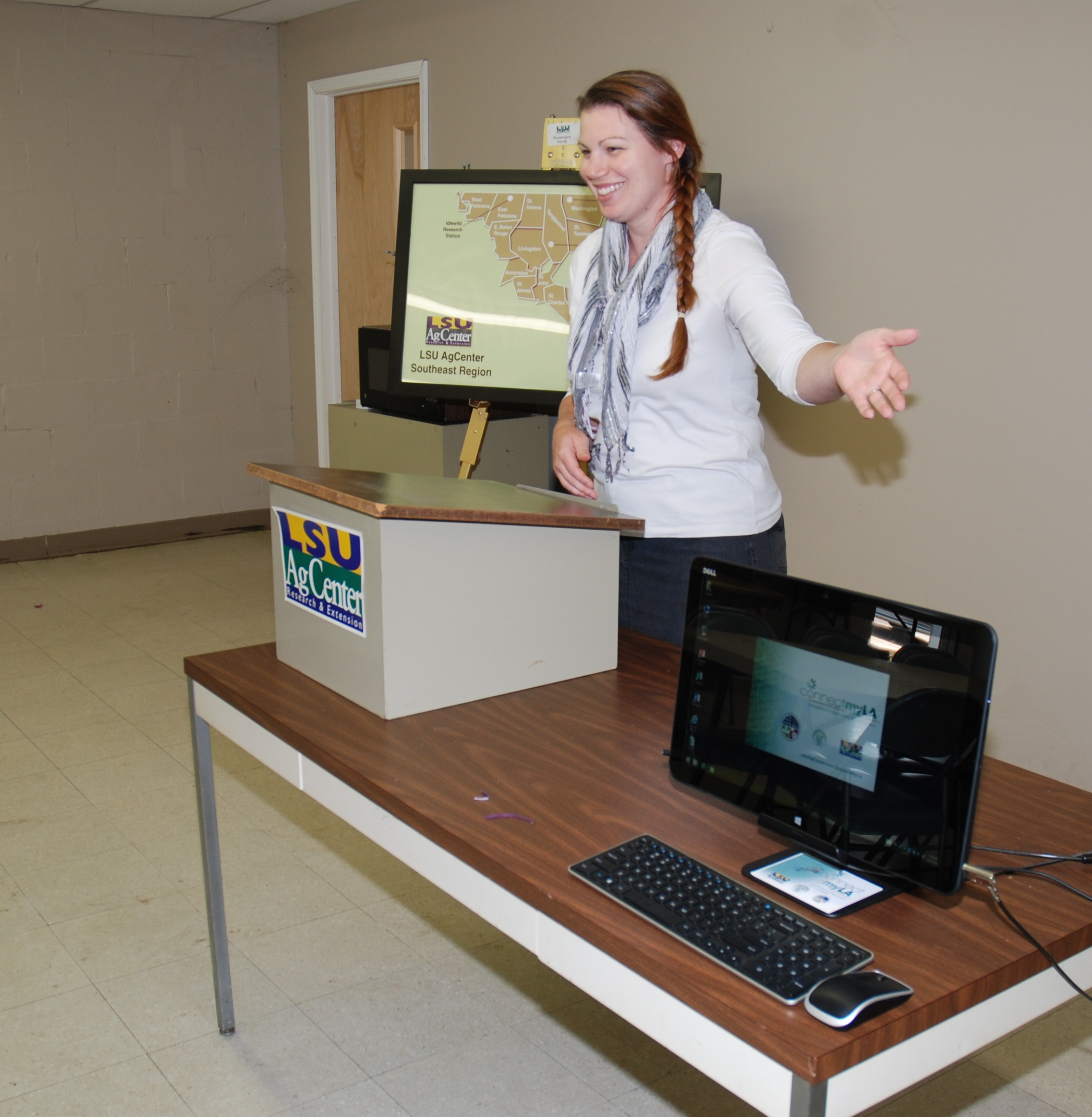 AgCenter brings technology to local residents