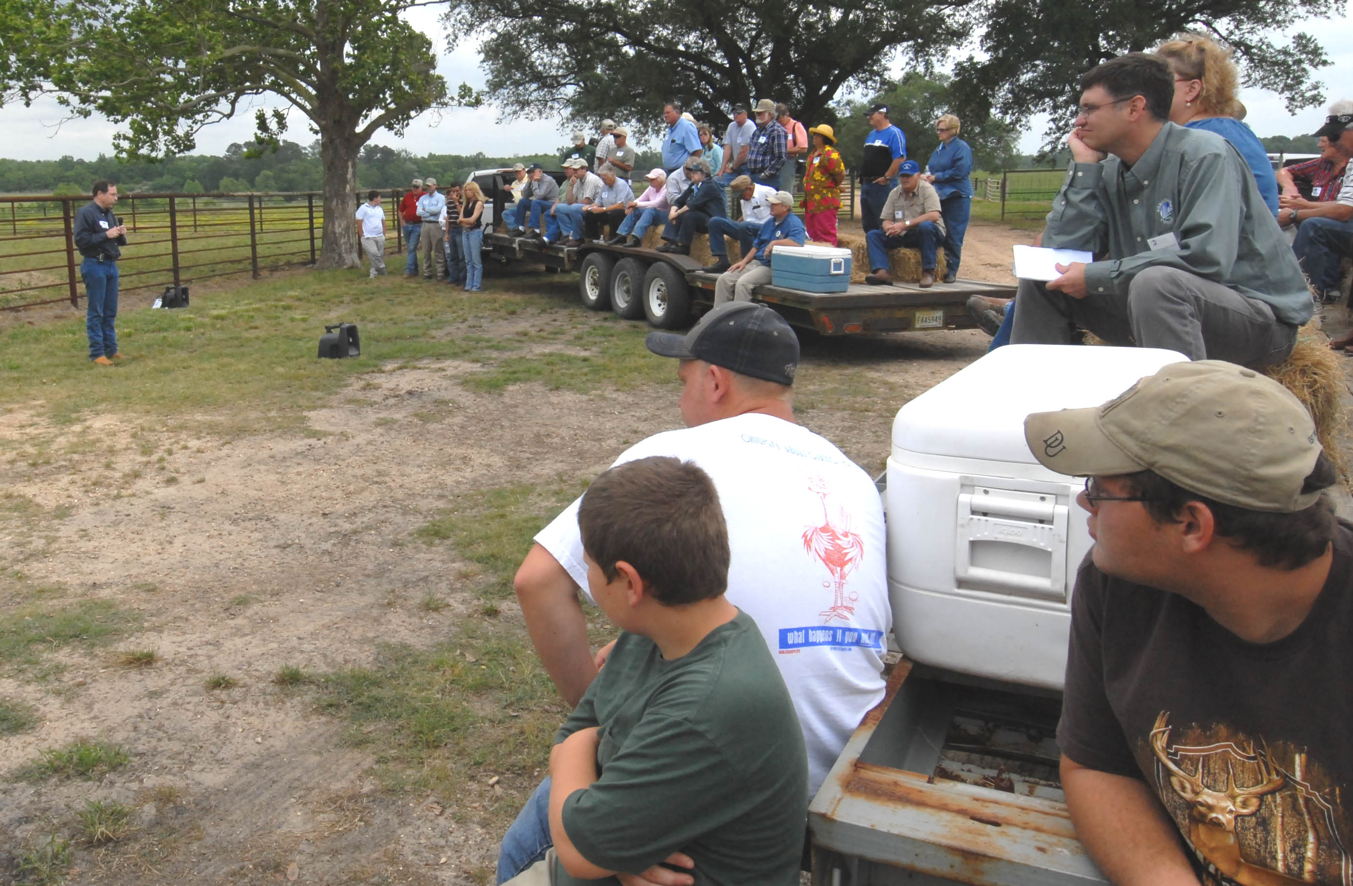 Cattle producers learn ways to cut costs at LSU AgCenter field day