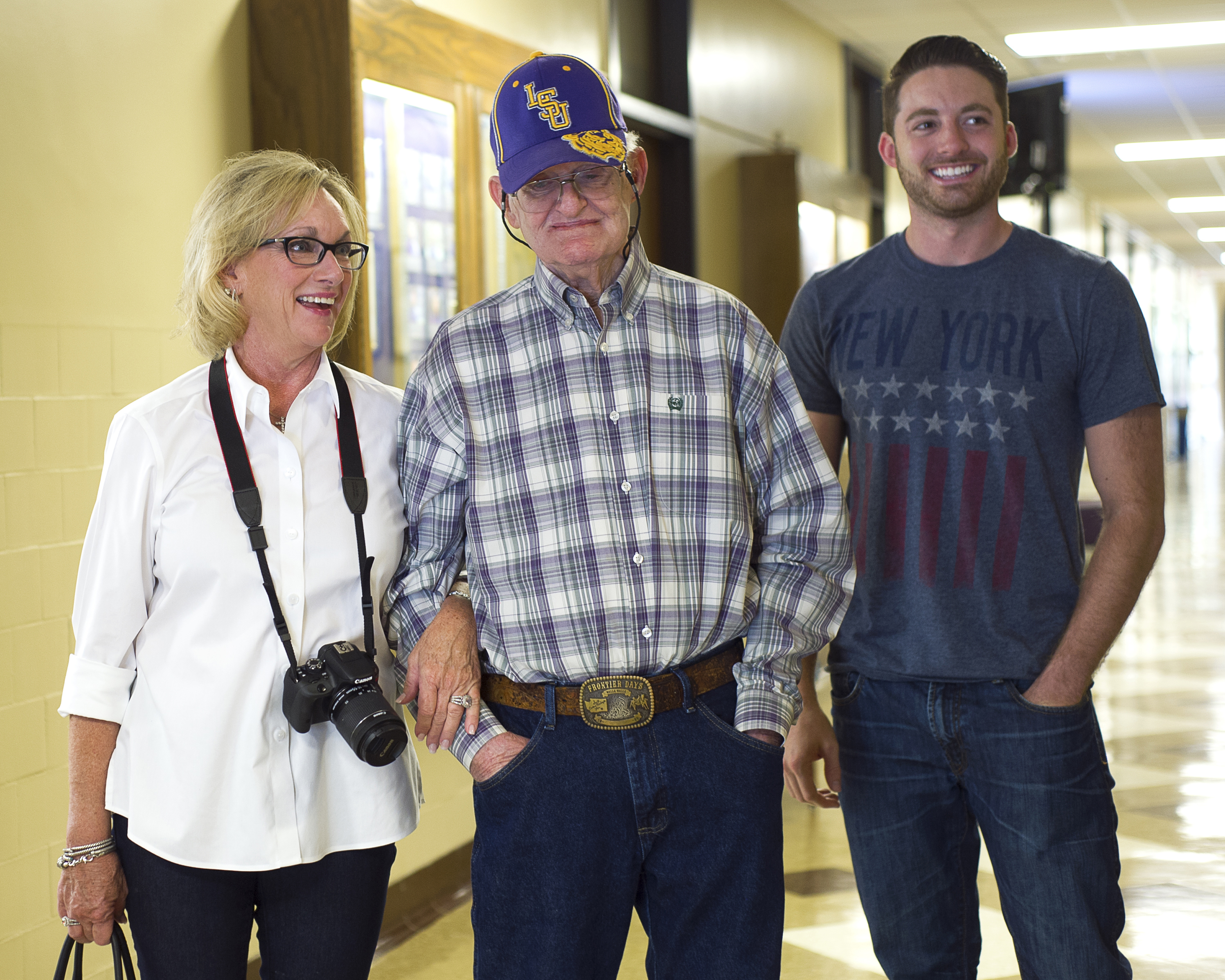 For retired AgCenter agent, visit to LSU campus is a wish come true
