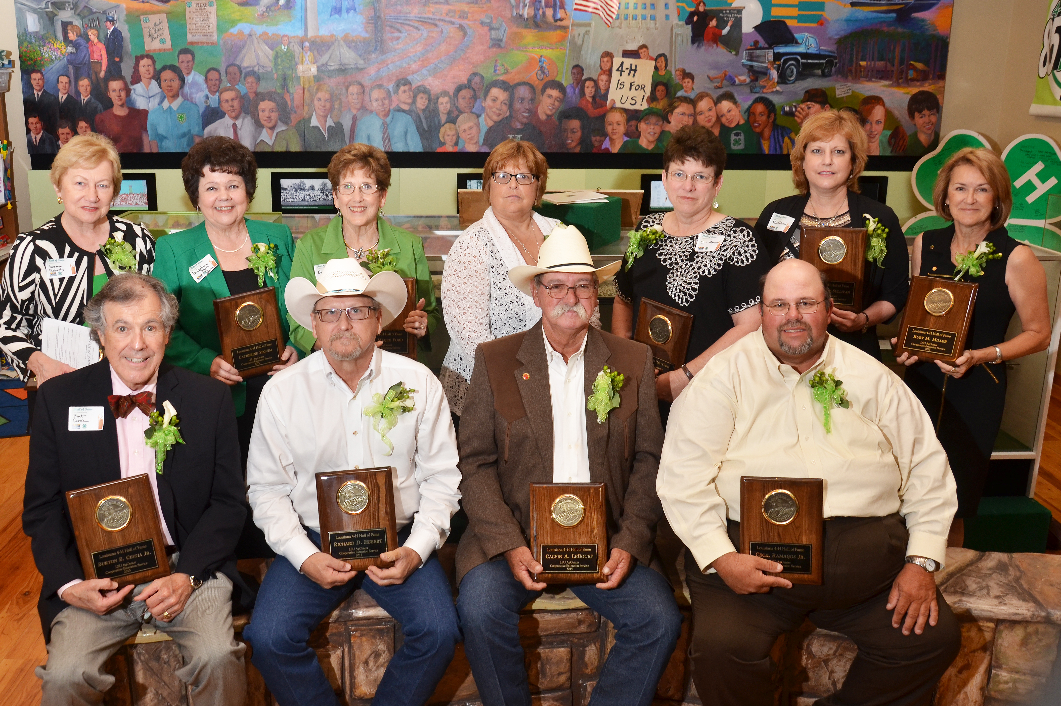 12 inducted into Louisiana 4-H Hall of Fame