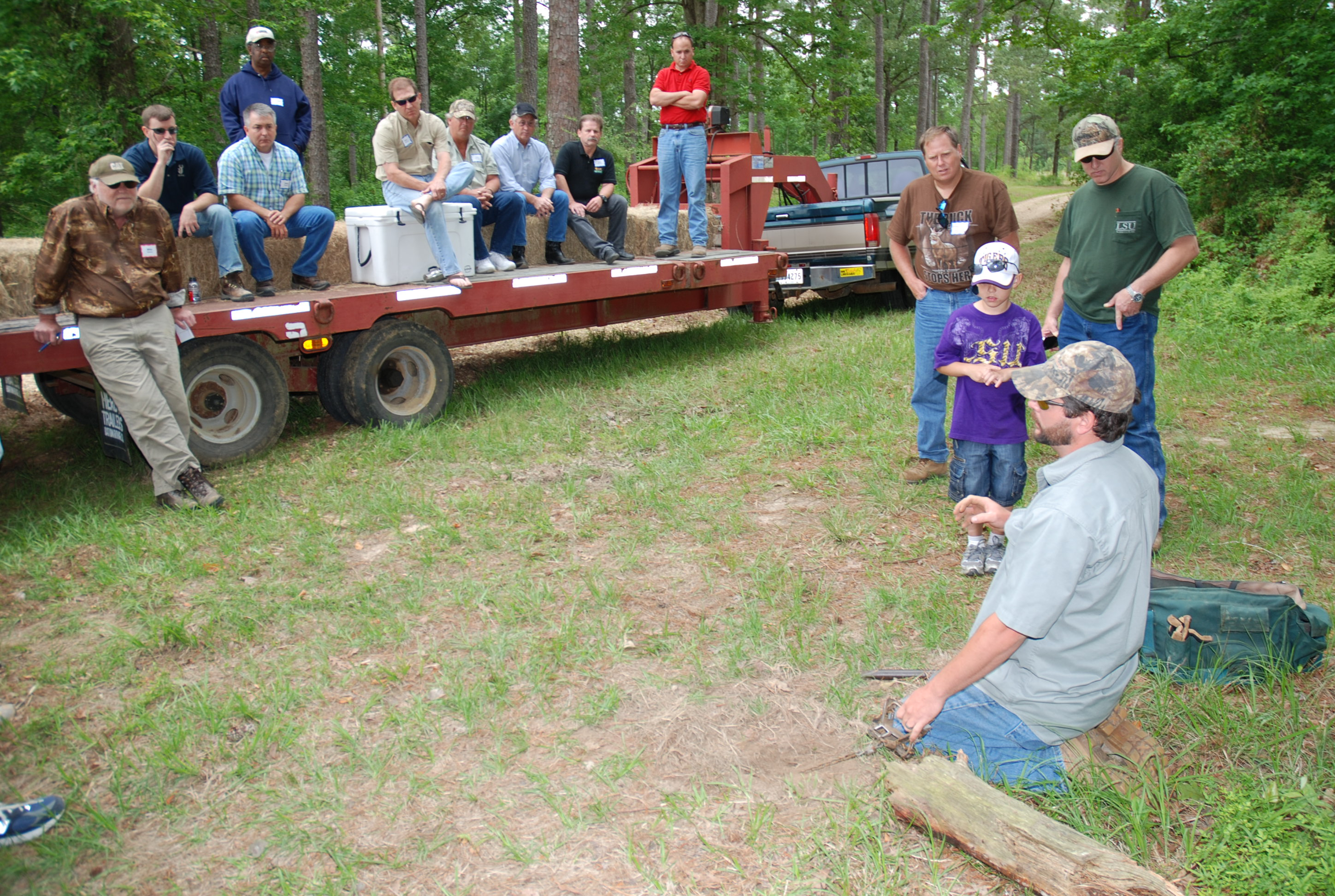 Wildlife field day prepares hunters for next season