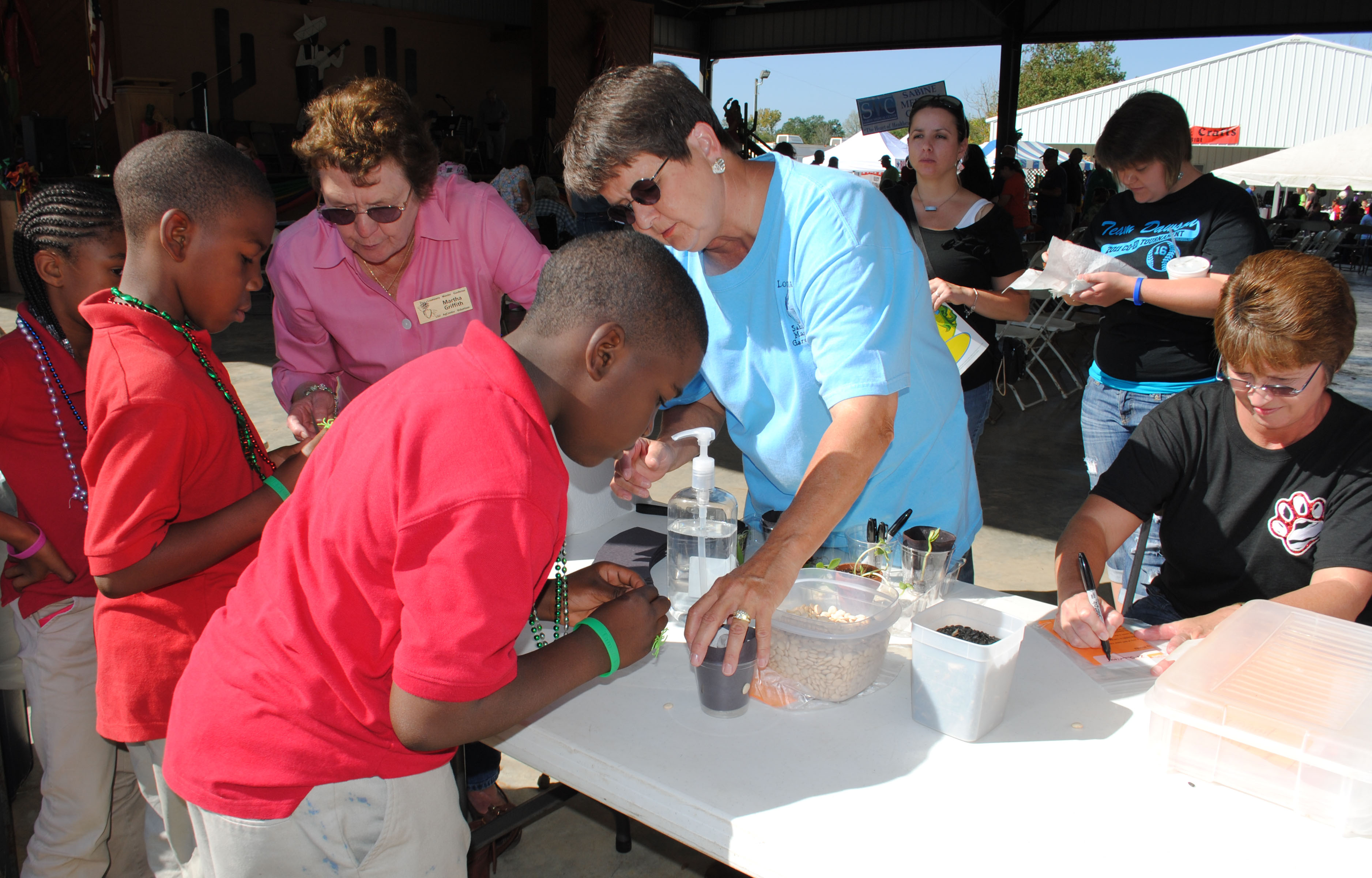 Third-graders learn about ag at Zwolle Tamale Fiesta