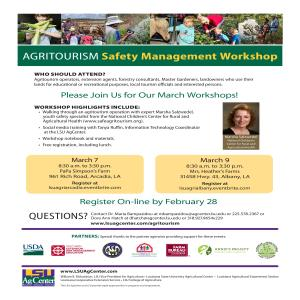 Agritourism Safety