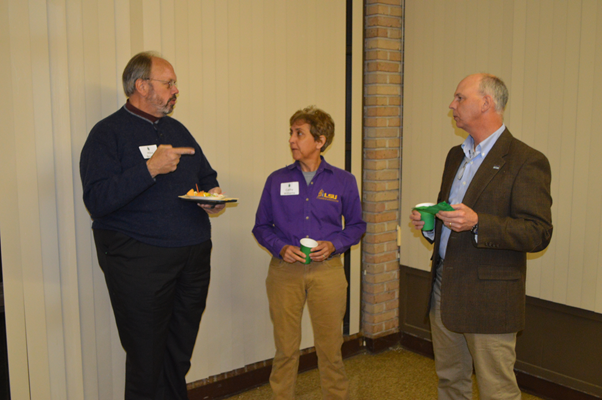 Cathy Williams, Mark Williams and Mike Brugger talk about the future of agriculture.