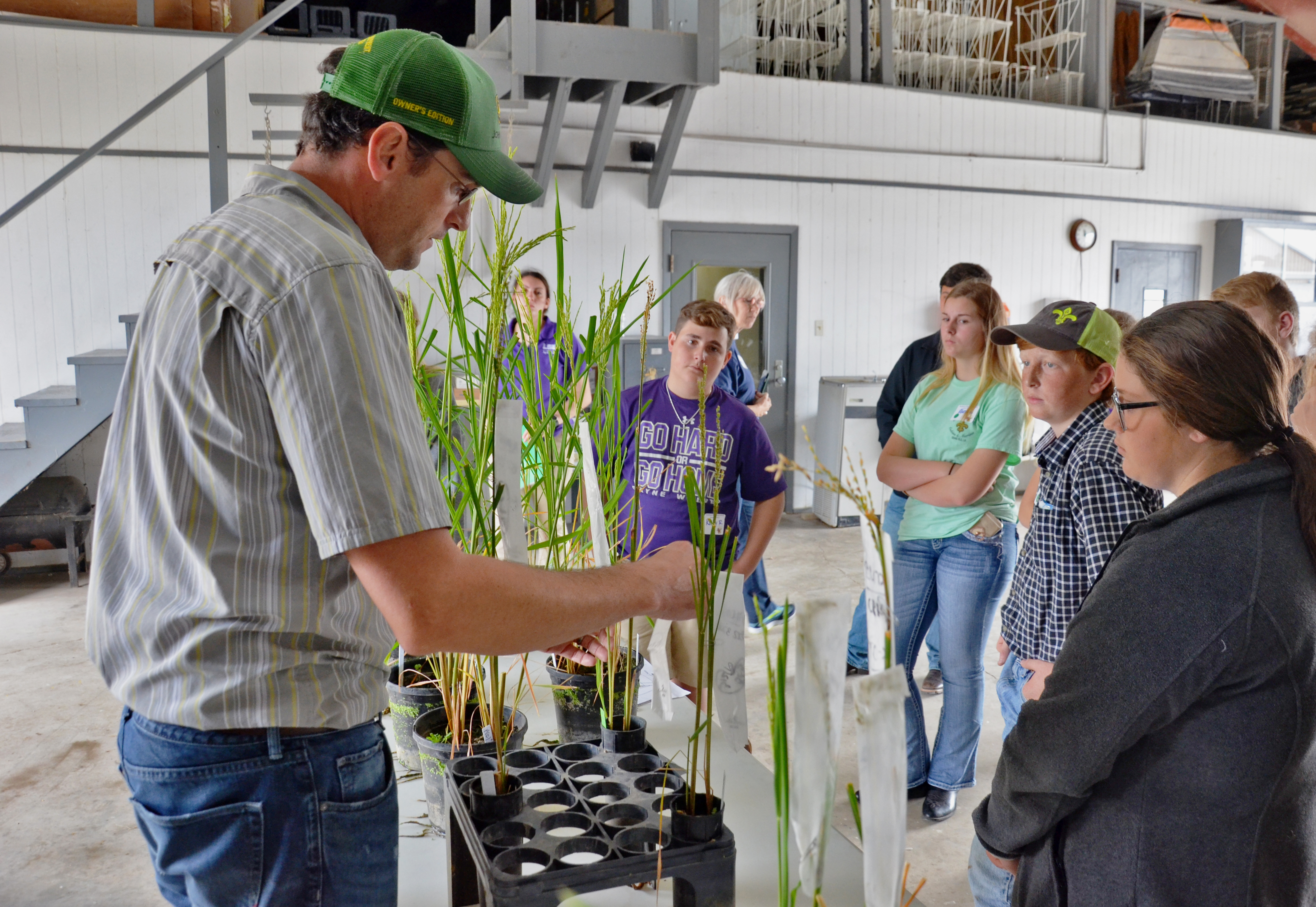 High school students hear about careers in agriculture