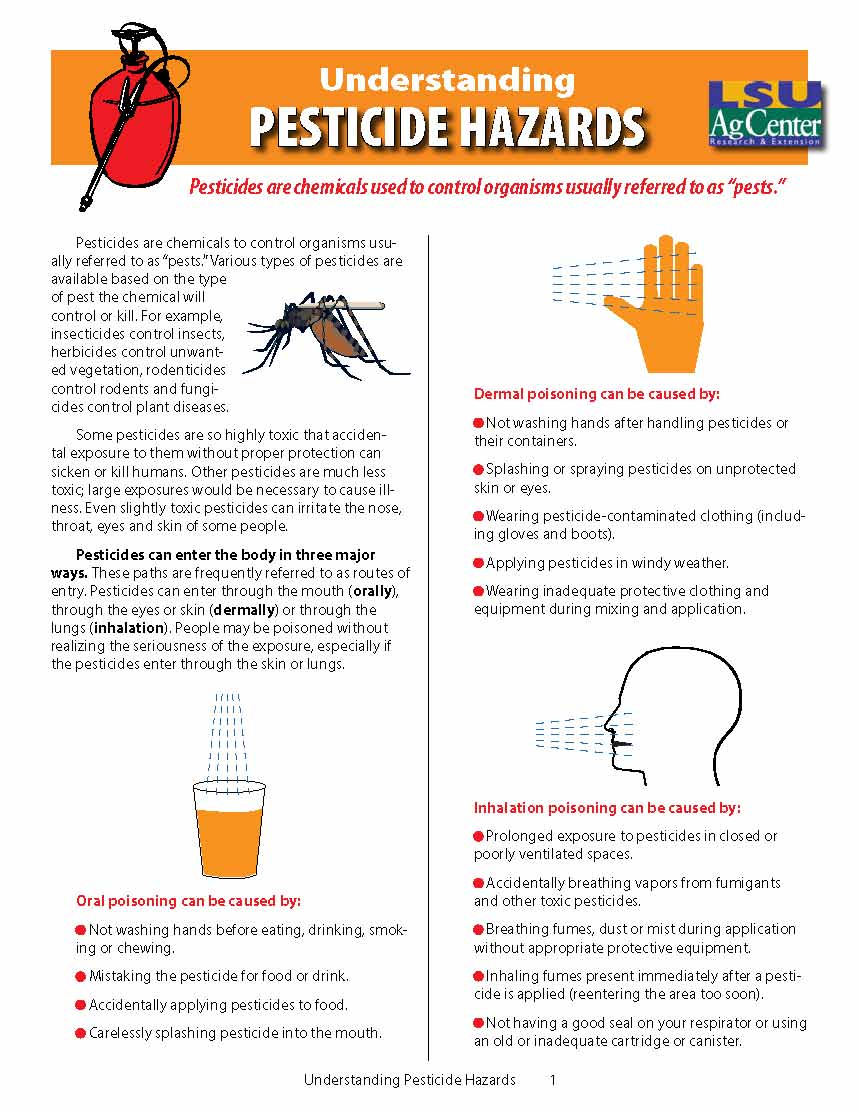 Understanding Pesticide Hazards