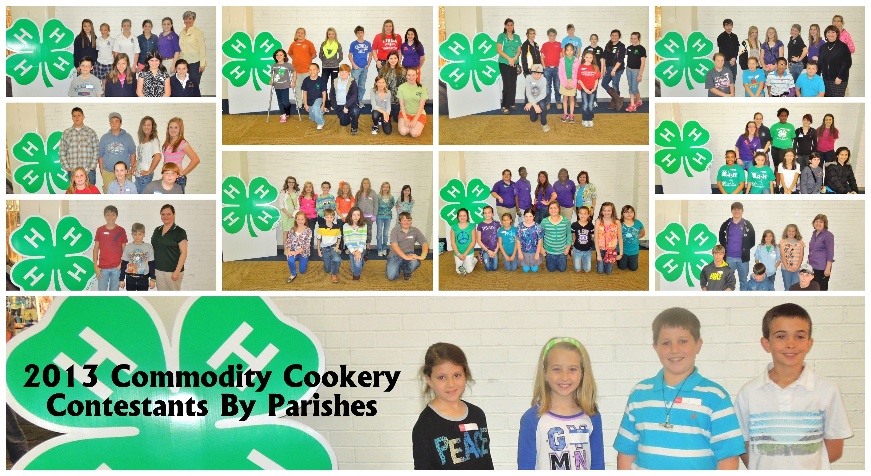 Commodity Cookery Contestants