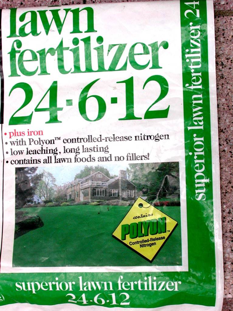 It's time to fertilize lawns