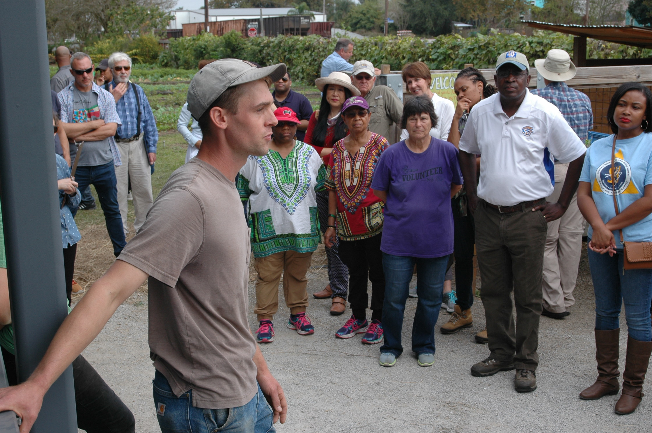 New Orleans tour features four urban farms
