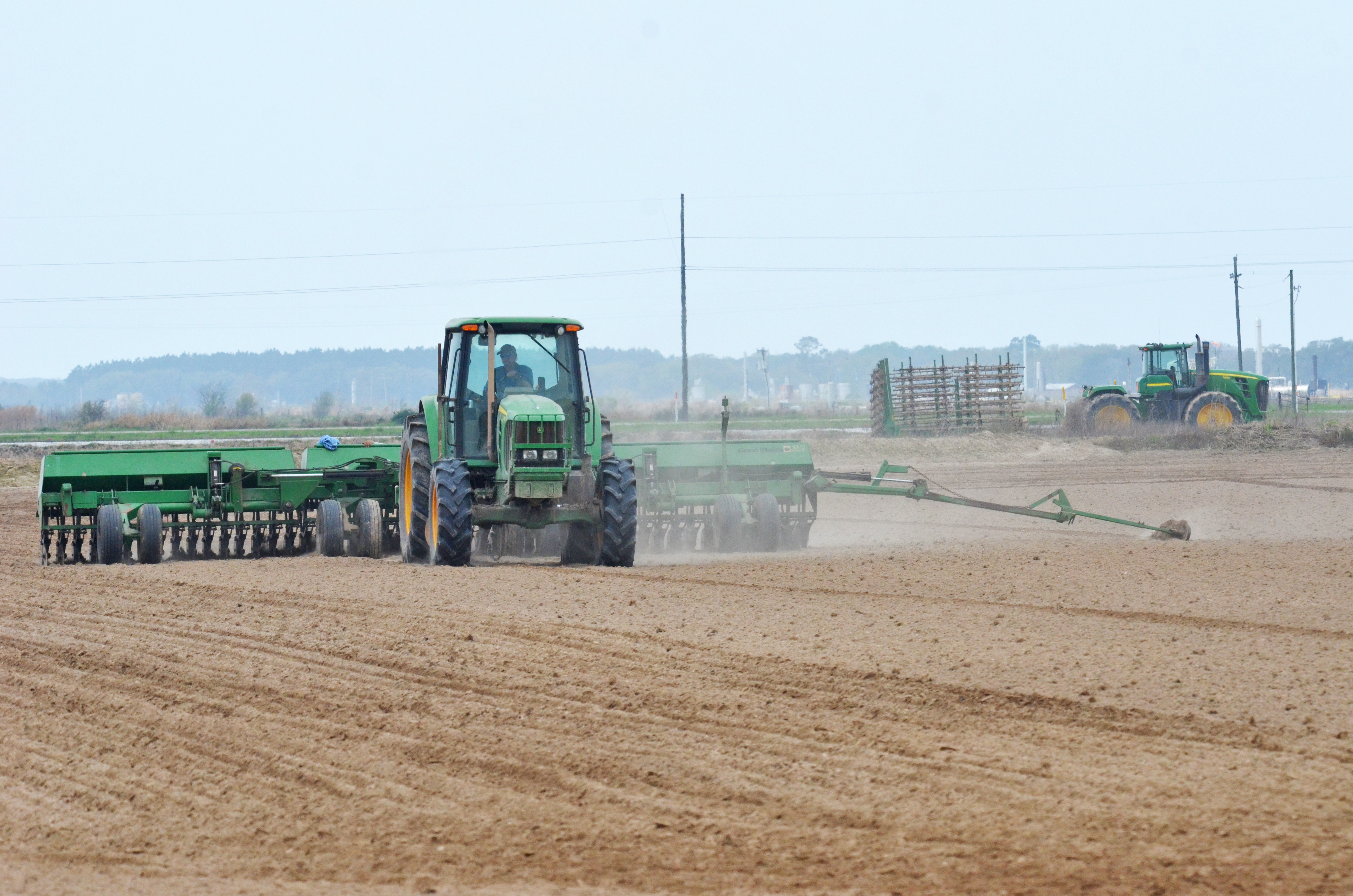 Louisiana rice planting gets off to a good start