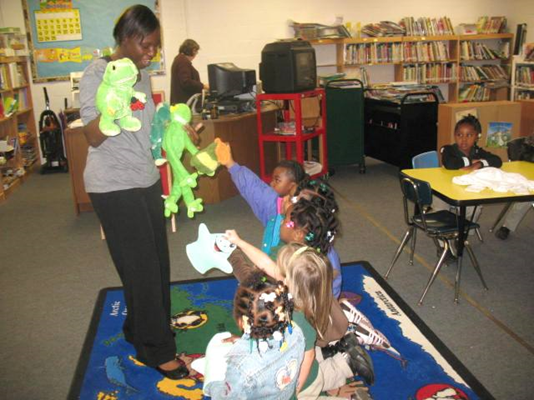 Youth enjoy a Character Critters program
