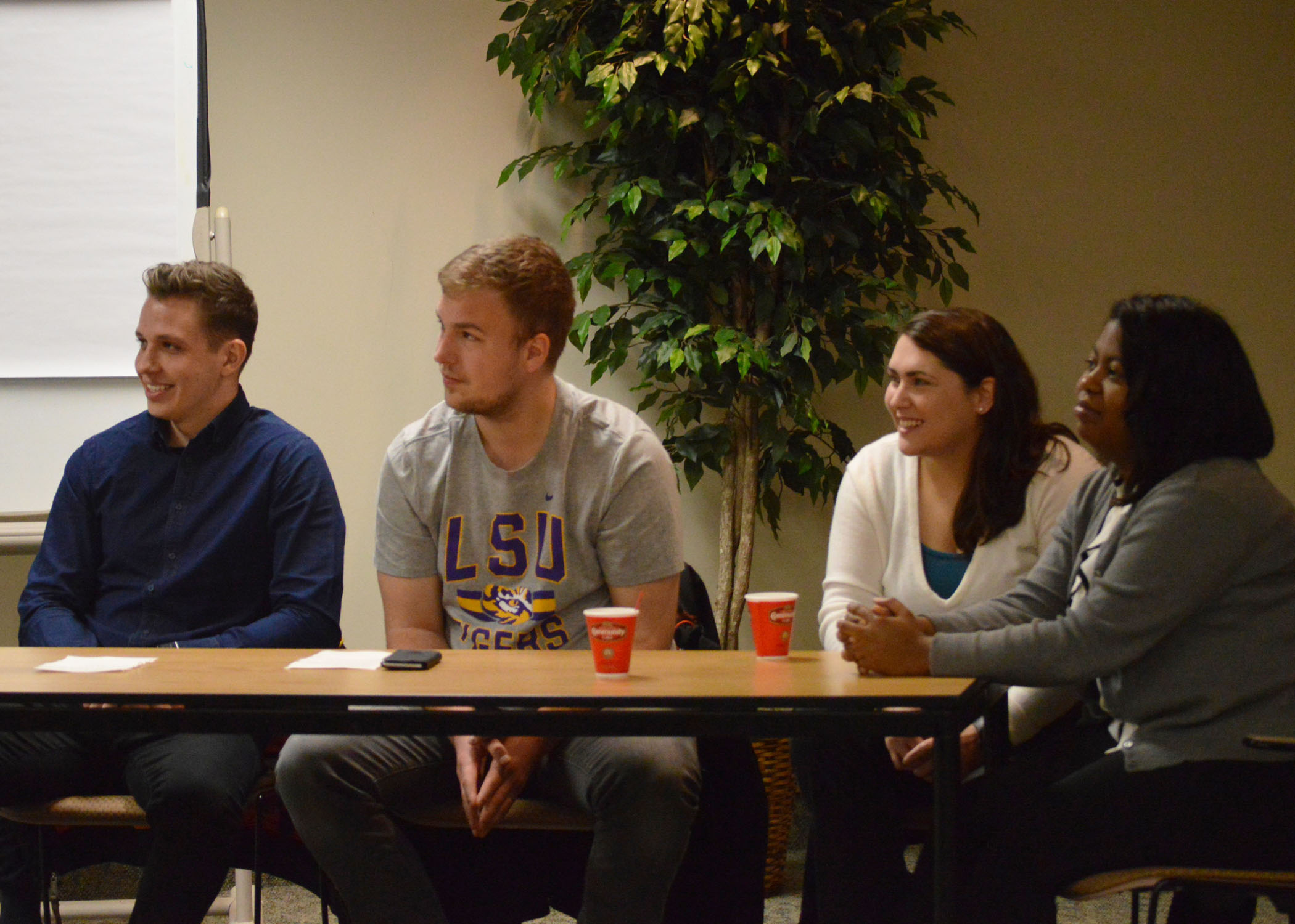 Slovak students visit LSU, learn about agriculture
