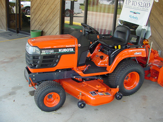 FWA on sub-compact tractor