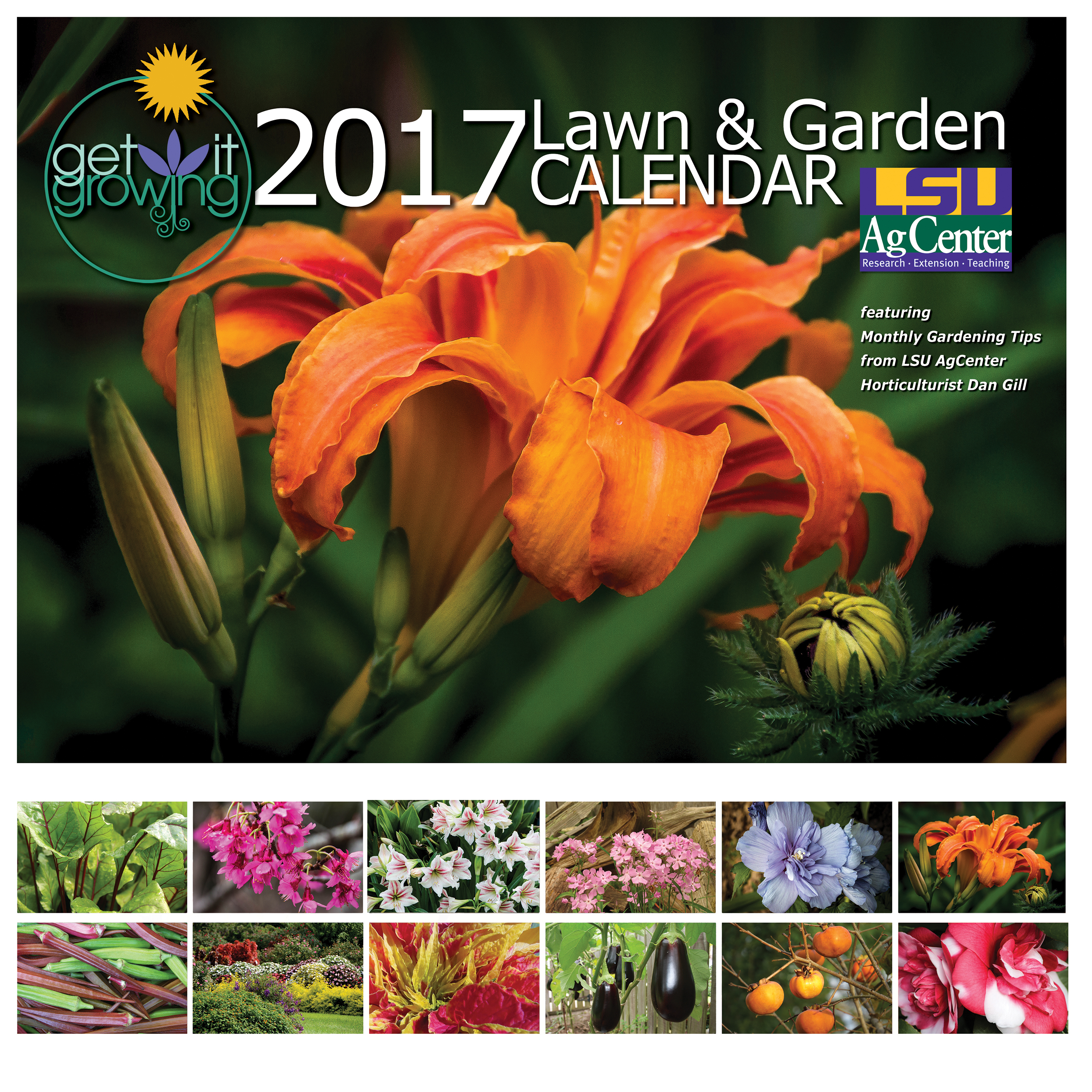 2017 Get It Growing Lawn Garden Calendar