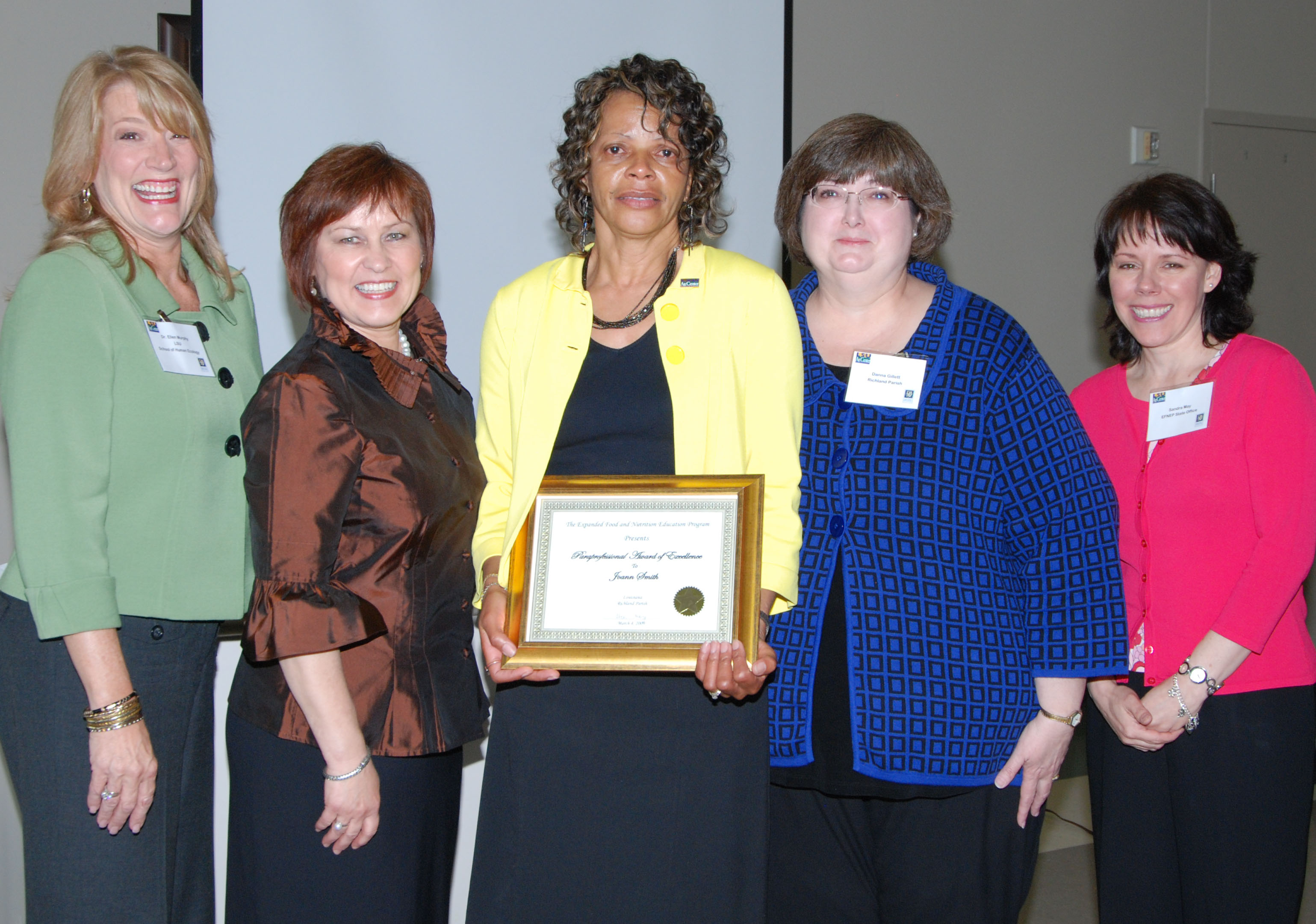 LSU AgCenter nutrition educator receives national USDA award